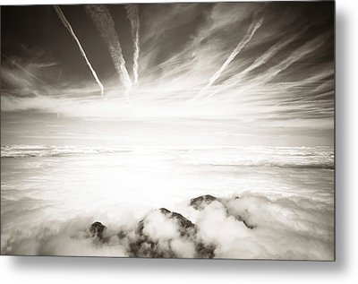 Metal Print featuring the photograph Heaven And Hell by Thierry Bouriat