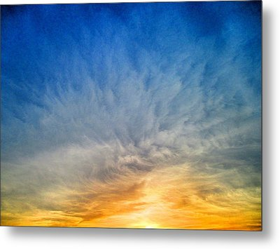 Heavenly Skies Metal Print by Constance Carlsen