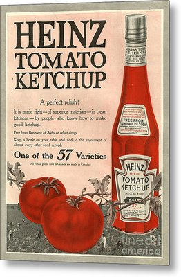 Heinz 1910s Usa Metal Print by The Advertising Archives