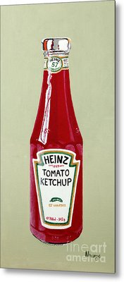 Heinz Ketchup Metal Print by Alacoque Doyle