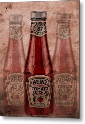 Heinz Tomato Ketchup Metal Print by Dan Sproul