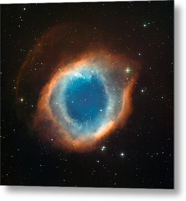 Helix Nebula Metal Print by Celestial Images