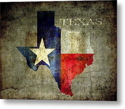 Hello Texas Metal Print by Daniel Hagerman