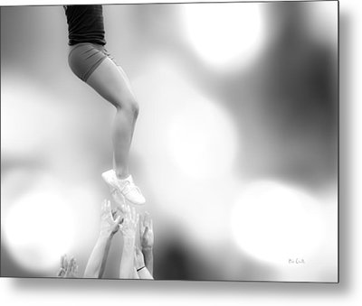Helping Hands Metal Print by Bob Orsillo