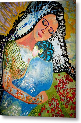 Her Love Metal Print by Amy Sorrell