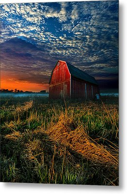 Here Comes The Light Metal Print by Phil Koch