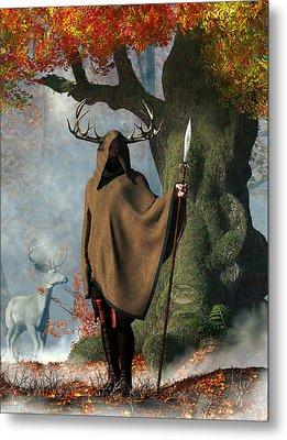 Herne The Hunter Metal Print by Daniel Eskridge