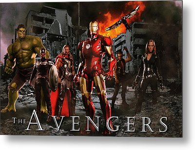 Heroes 3 Metal Print by Christian Colman
