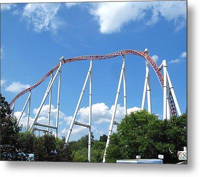 Hershey Park - Storm Runner Roller Coaster - 12126 Metal Print by DC Photographer