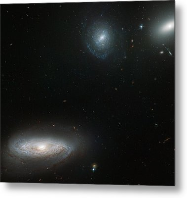 Hickson Compact Group Metal Print by Celestial Images