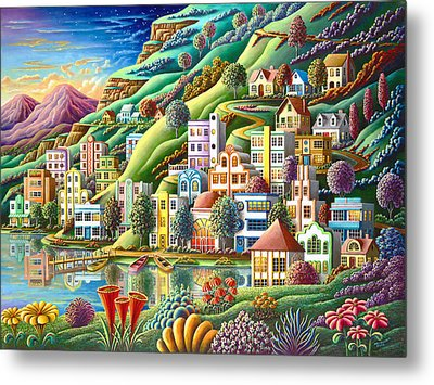 Hidden Harbor Metal Print by Andy Russell