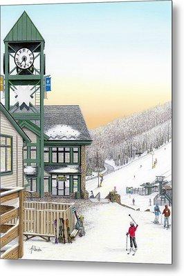 Hidden Valley Ski Resort Metal Print by Albert Puskaric