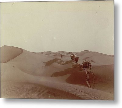 High Dunes South Of Camp 328 Metal Print by British Library
