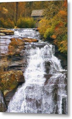 High Falls Metal Print by Scott Norris