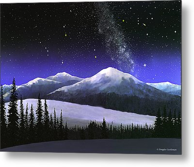 High Sierra Night Metal Print by Douglas Castleman