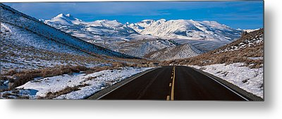 Highway Ca Usa Metal Print by Panoramic Images