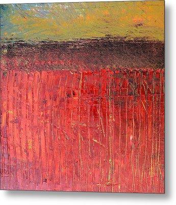 Highway Series - Cranberry Bog Metal Print by Michelle Calkins