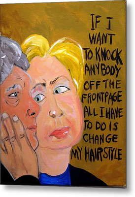 Hillary Metal Print by Jennie Cooley