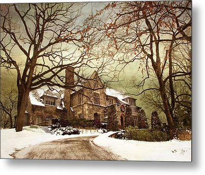 Hilltop Holiday Home Metal Print by Jessica Jenney