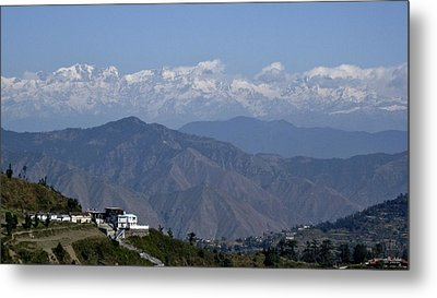Himalayas I Metal Print by Russell Smidt