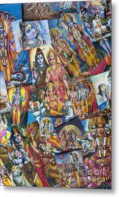 Hindu Deity Posters Metal Print by Tim Gainey