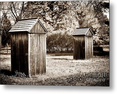 His And Hers Metal Print by John Rizzuto