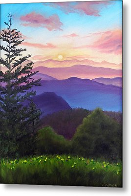His Mercies Are New Every Morning Metal Print by Joan Swanson
