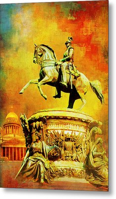 Historic Centre Of Saint Petersburg And Related Groups Of Monuments Metal Print by Catf