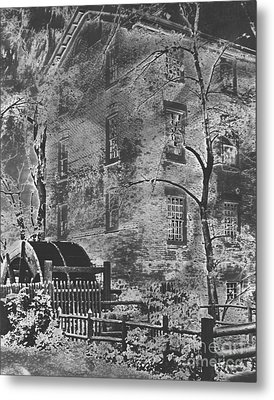 Historic Graue Mill Hinsdale Il Photographic Art Metal Print by ImagesAsArt Photos And Graphics