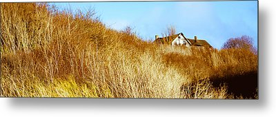 Historic Home On A Landscape, Whidbey Metal Print by Panoramic Images