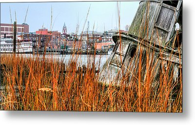 Historic Wilmington Metal Print by JC Findley