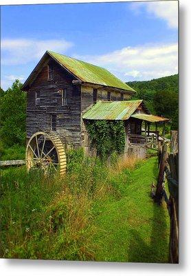 Historical Whites Mill Metal Print by Karen Wiles