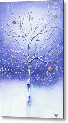 Holiday Card 8 Metal Print by Nelson Ruger