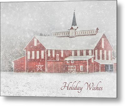 Holiday Wishes Metal Print by Lori Deiter