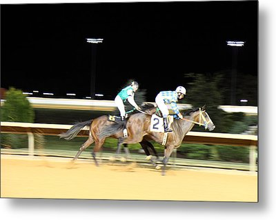 Hollywood Casino At Charles Town Races - 121211 Metal Print by DC Photographer