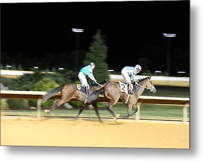 Hollywood Casino At Charles Town Races - 121214 Metal Print by DC Photographer