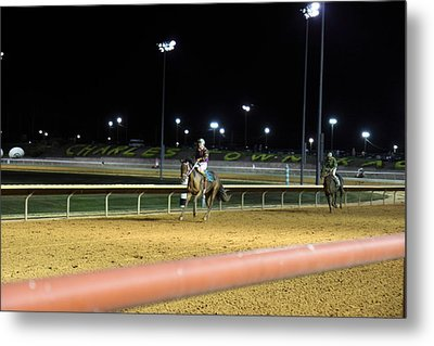 Hollywood Casino At Charles Town Races - 121222 Metal Print by DC Photographer