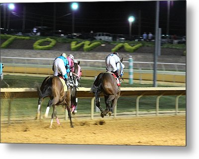 Hollywood Casino At Charles Town Races - 121249 Metal Print by DC Photographer
