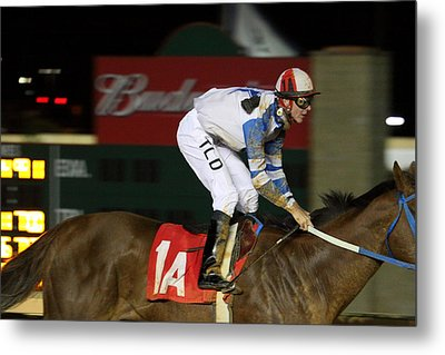 Hollywood Casino At Charles Town Races - 121258 Metal Print by DC Photographer