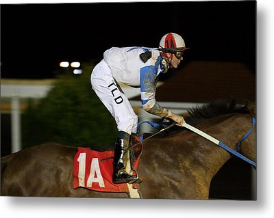 Hollywood Casino At Charles Town Races - 121259 Metal Print by DC Photographer