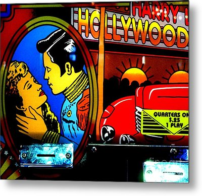 Hollywood Metal Print by Newel Hunter
