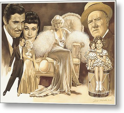 Hollywoods Golden Era Metal Print by Dick Bobnick