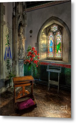 Holy Ground Metal Print by Adrian Evans