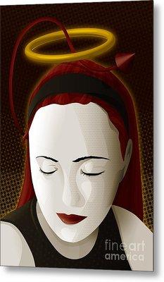 Holy Mary Metal Print by Sandra Hoefer