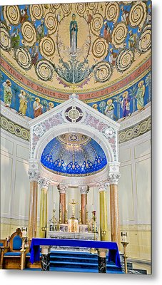 Holy Mary Metal Print by Susan Candelario
