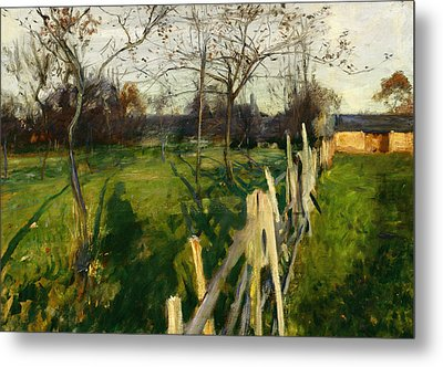 Home Fields Metal Print by John Singer Sargent