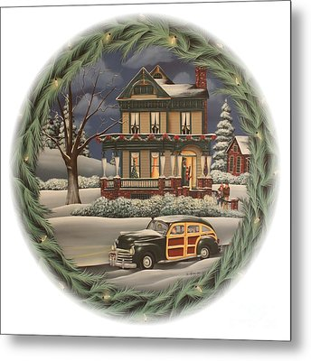 Home For The Holidays Metal Print by Catherine Holman