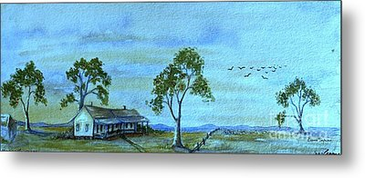 Home On The Range Metal Print by Leanne Seymour