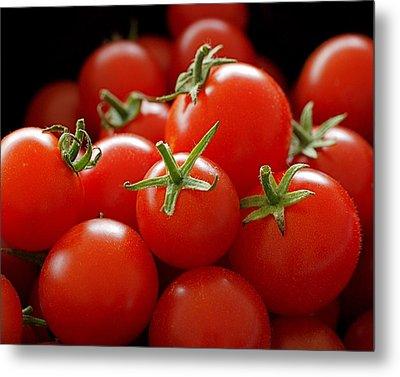 Homegrown Tomatoes Metal Print by Rona Black