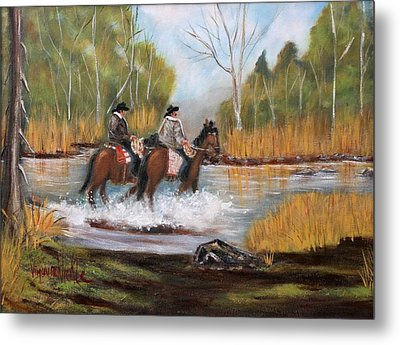 Homeward Bound Metal Print by Virginia Nickle
